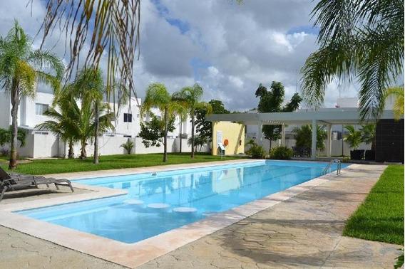 Casa En Renta En Playa Del Carmen.