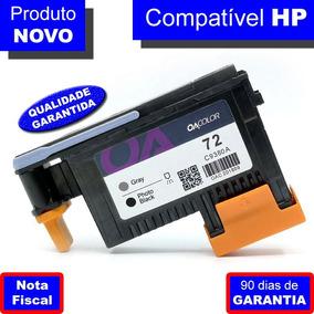 Cabeça De Impressão Hp 72 C9380a Cinza E Preto Fotográfico