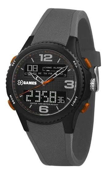 Relógio X-games Masculino Anadigi Esportivo Xmppa281 P2gx