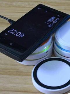 Carregador Wireless Qi Sem Fio Charger P/celular Universal.