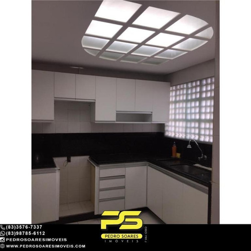 Apartamento Com 3 Dormitórios À Venda, 120 M² Por R$ 420.000 - Tambaú - João Pessoa/pb - Ap4629