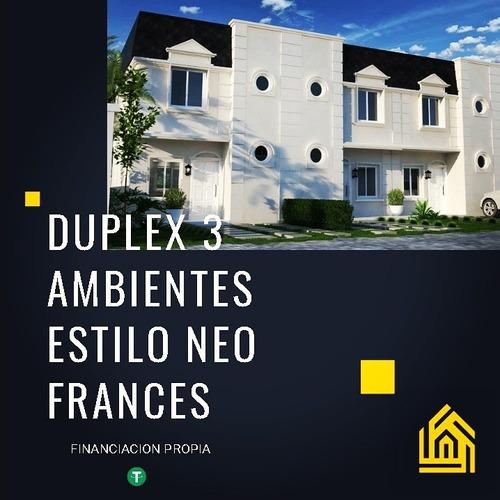 Imagen 1 de 12 de Duplex 3 Ambientes. Complejo San Vicente Chico -tomo Cripto-