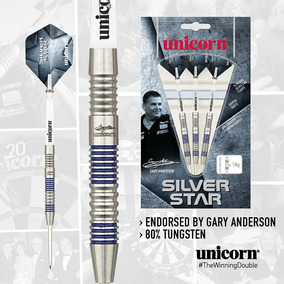 Unicorn Silver Star Gary Anderson Dardos Profissional