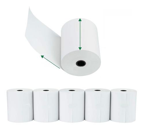 Rollo Térmico Para Impresora Pos Epson Tm-t20ll Paquete X 6