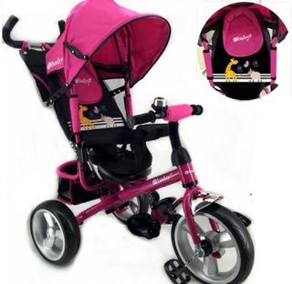 Triciclo Pasiador Para Bebe Ebaby Con Posiciones