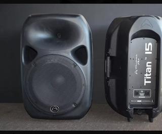 Wharfedale Pro Titan15-pb Par De Bafles 400w