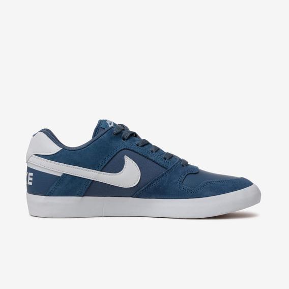 Zapatillas Nike Sb Modelo Delta Force Azul Acero