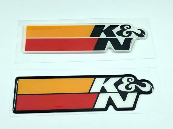 Adesivo Resinado K&n Kn K &n K N Filtro Esportivo Bmw Jetta