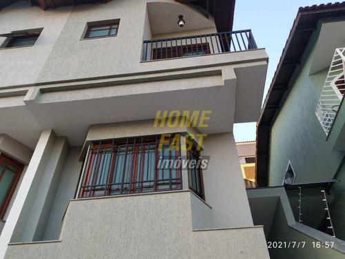 Sobrado Com 3 Dormitórios À Venda, 138 M² Por R$ 630.000,00 - Vila Rosália - Guarulhos/sp - So0932