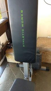 Estação De Musculação Ginastica Athletics Works Nunca Usada.
