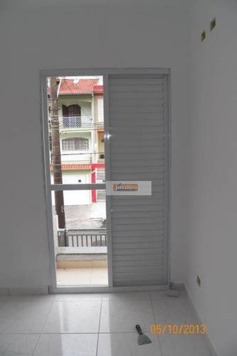 Cobertura  Residencial À Venda, Jardim Milena, Santo André. - Co0495
