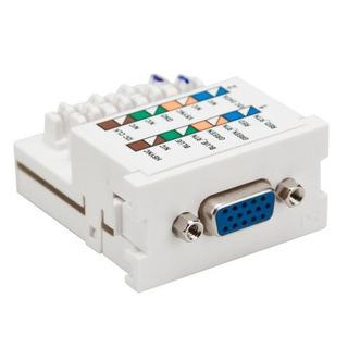 Leviton 41295vmw Vga Monitor Mos Module 110style Termination