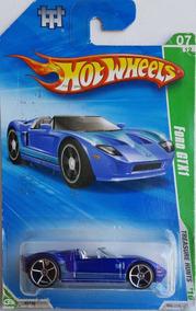 Hot Wheels 1/64 2010. Ford Gtx1 T-hunt 059/214 / Novo (a)