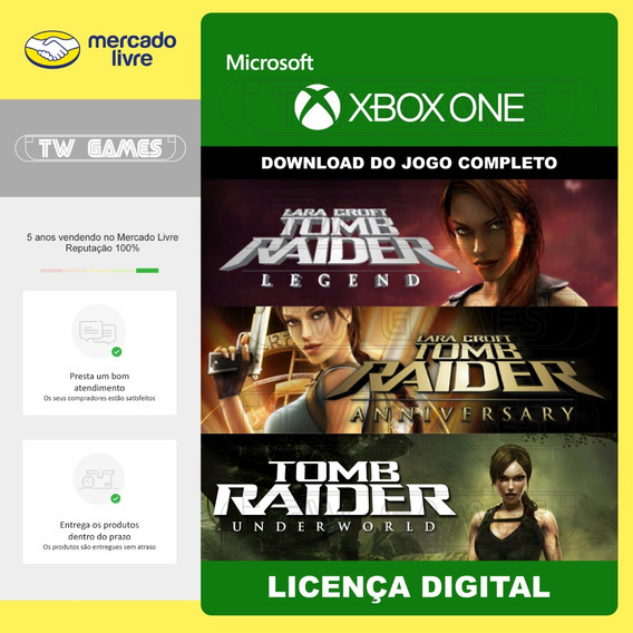 Pack Tomb Raider Legend Anniversary Underworld Xbox One