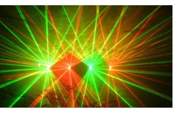 Laser Show 4 Saidas Verde-vermelho