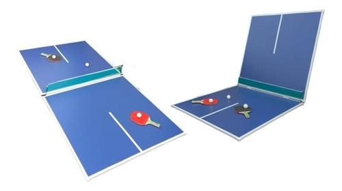 P R O M O -25% Tapa Ping Pong Plegable P/ Tejo Metegol + Set