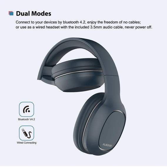 Fone Bluetooth Ausdum Original Cartão Memoria Beats Sony Jbl