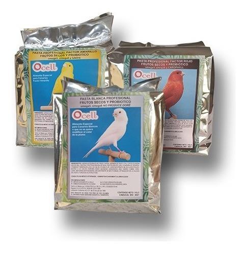 Ocell Pasta Profesional 1k Blanca 1k Amarilla 1k Factorrojo