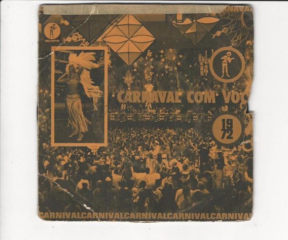 Carnaval Com Você 1971 Menininha Moderninha - Compacto Ep 59