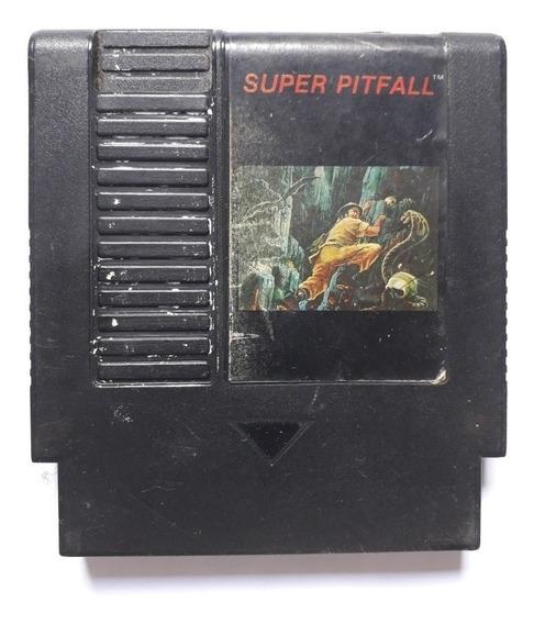 Super Pitfall Original Gradiente Nintendo Nes Nintendinho