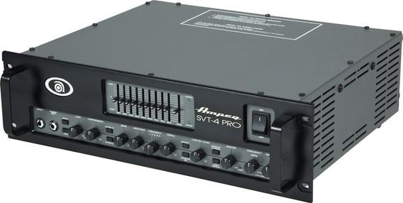 Ampeg Svt-4pro 1800w Cabezal Amplificador Valvular De Bajo