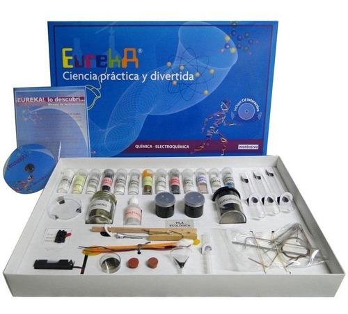 Juego De Quimica Y Electro  Eureka  Con Cd Y Manual