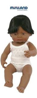 Miniland Baby Doll Latino American Boy (38 Cm, 15)