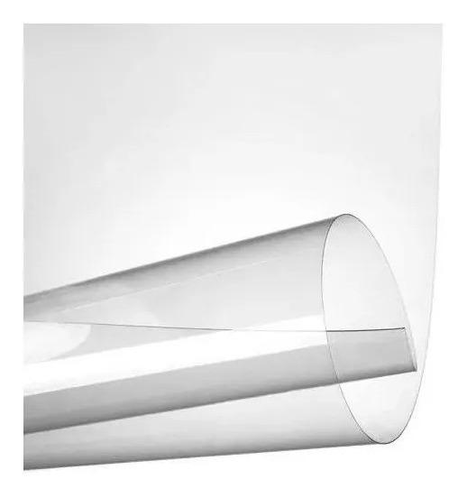 Vinil Adesivo Transparente A4 Prova Dágua 100 Folhas P/ Jato