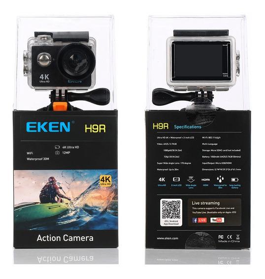Eken H9r Wifi Fullhd 4k Com Acessórios Nova E Com Garantia