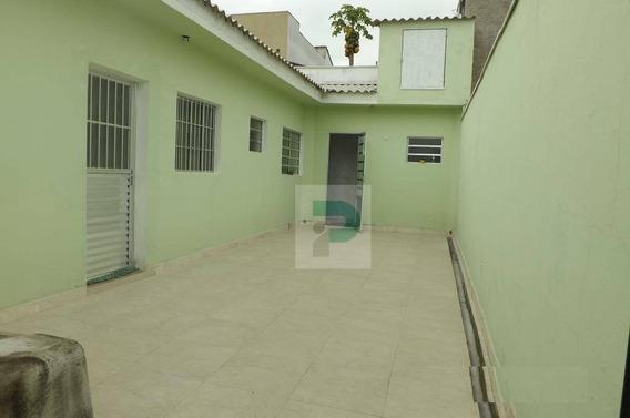 Casa De Fundos No Parque Santana Em Mogi Das Cruzes - Ca0132