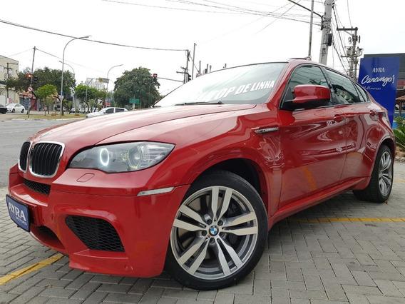 Bmw X6 M 4.4 4x4 V8 32v Bi-turbo Aut. - Vermelho - 2012