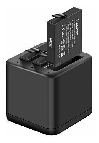 Paquete De Cargador De Bateria Insta360 One X, Compatible C