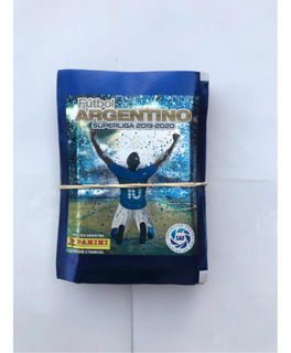 Figuritas Fútbol Argentino 2019/20 Pack X25 Sobres