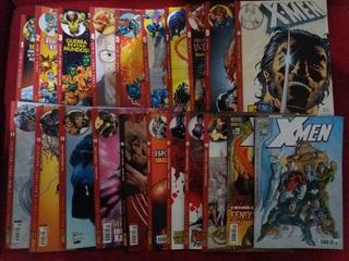Pac Com 20 Revistas Em Quadrinhos Marvel Panini