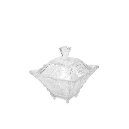 Bomboniere Decoração Decorativa De Meso De Vidro Tandis 13 Cm