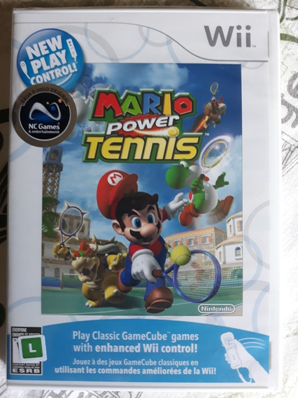 Mario Power Tennis Wii Lacrado