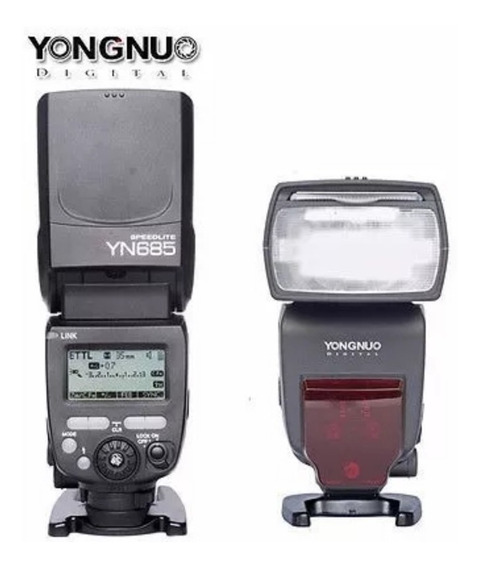 Flash Yongnuo Yn-685 Ttl Speedlite Para Nikon