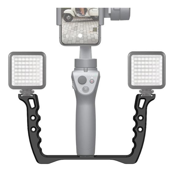 Handle Para Smooth Q 4 - Suporte Para Led E Microfone