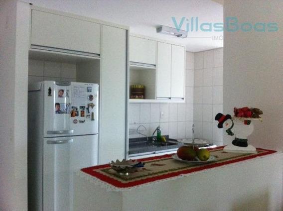 Apartamento Com 3 Dormitórios Para Alugar, 75 M² Por R$ 2.200,00/mês - Jardim Aquarius - São José Dos Campos/sp - Ap1224