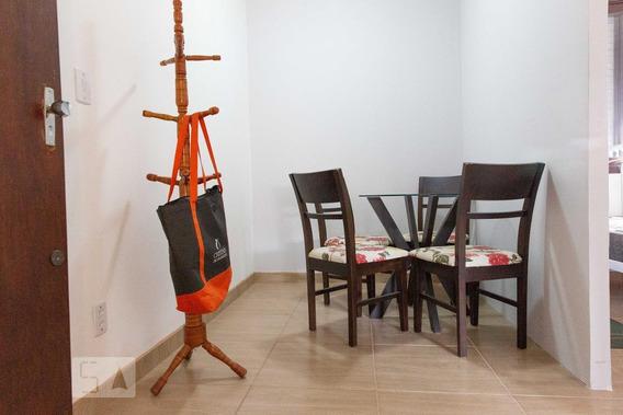 Apartamento Para Aluguel - Chácara Das Pedras, 1 Quarto, 40 - 893012073