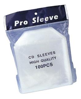 Sobres Plasticos Para Cd Y Dvd 100 Micrones Con Solapa X100u