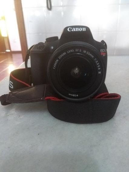 Câmera Canon Eos Rebel T5 Com Lente 18-55mm E Cartão De 32g