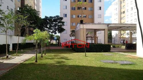 Apartamento À Venda, 46 M² Por R$ 210.000,00 - Jardim São Francisco (zona Leste) - São Paulo/sp - Ap0526