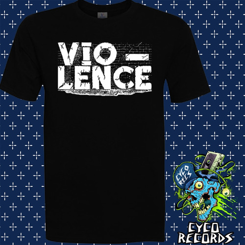 Imagen 1 de 3 de Vio-lence - Logo - Metal - Polera- Cyco Records