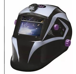 Máscara Fotosensible Profesional Careta Soldadora 4 Sensores