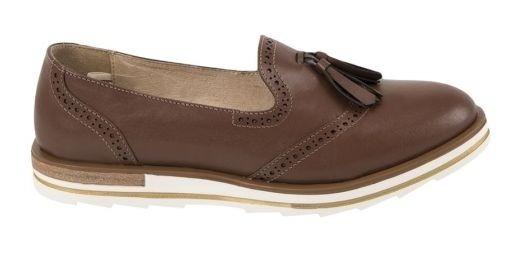 Zapato Confort Seducta 5006 Cof 824863 Antiderrapante Piel