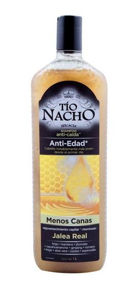 Shampoo Tío Nacho Anti-edad Jalea Real 1 L Genomma Lab