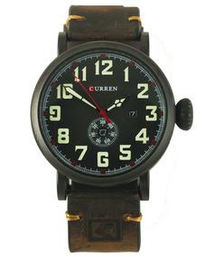 Reloj Curren Horus Estilo Vintage Para Caballero