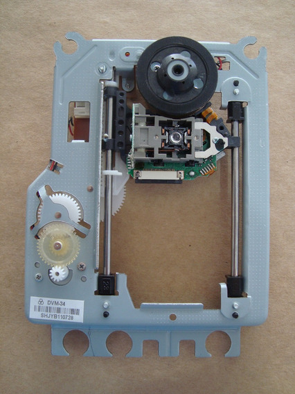 Kit 3 Leitor Unidade Optica Sf-hd850 Com Mecanismo Dvm34