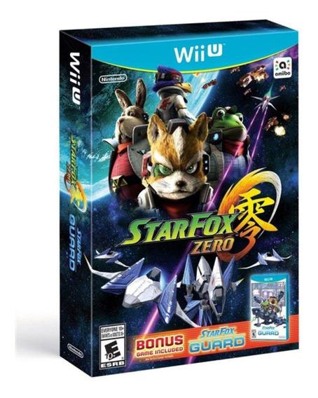 Jogo Star Fox Zero + Jogo Bônus Nintendo Wii Mídia Física
